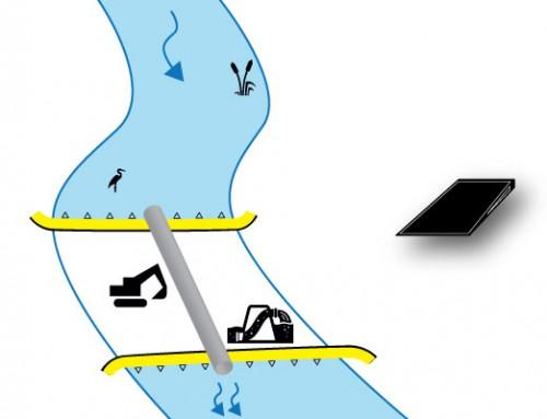 Caso 2 Instalación perpendicular | Poca pendiente