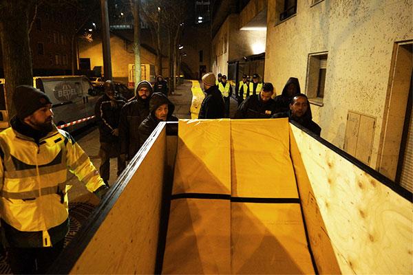protección contra inundaciones de emergencia en París