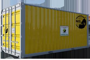 contenedor de protección contra inundaciones