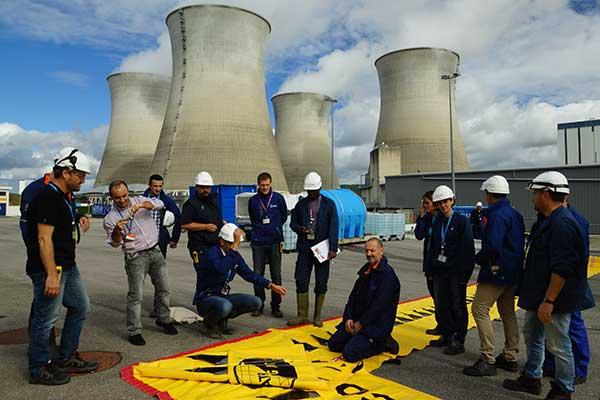 Capacitación EDF sobre protección contra inundaciones