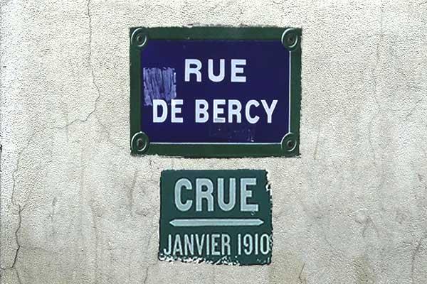 marca de inundación paris bercy