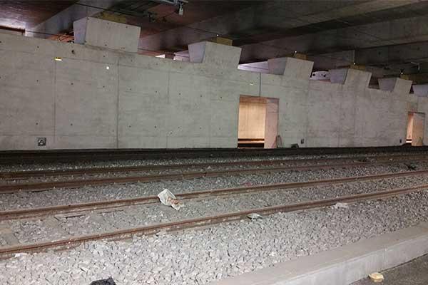 Barrera contra inundaciones RER C SNCF