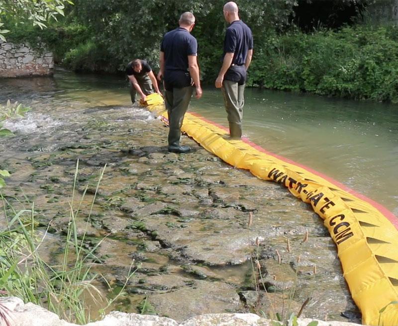 ¡Cómo secar el umbral de un río en 3 minutos!