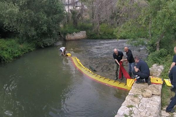 ¡Cómo secar el umbral de un río en 3 minutos! Modelo WL-06 con balasto integrado.